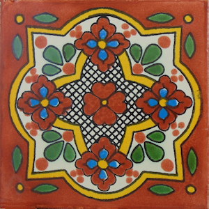 Patricio Tile Handmade Handcrafted Ceramic Decorative Tiles